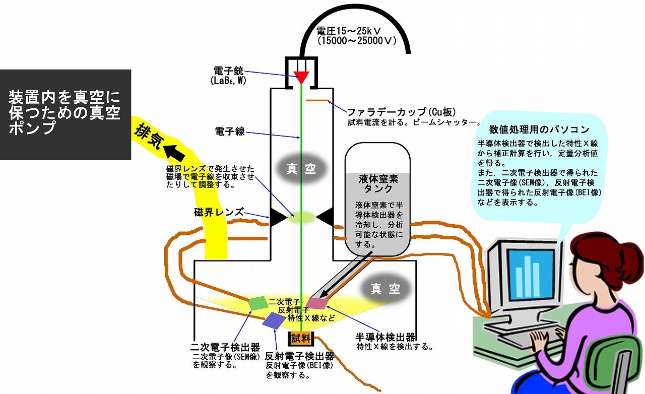 エネルギー分散型 eds分析