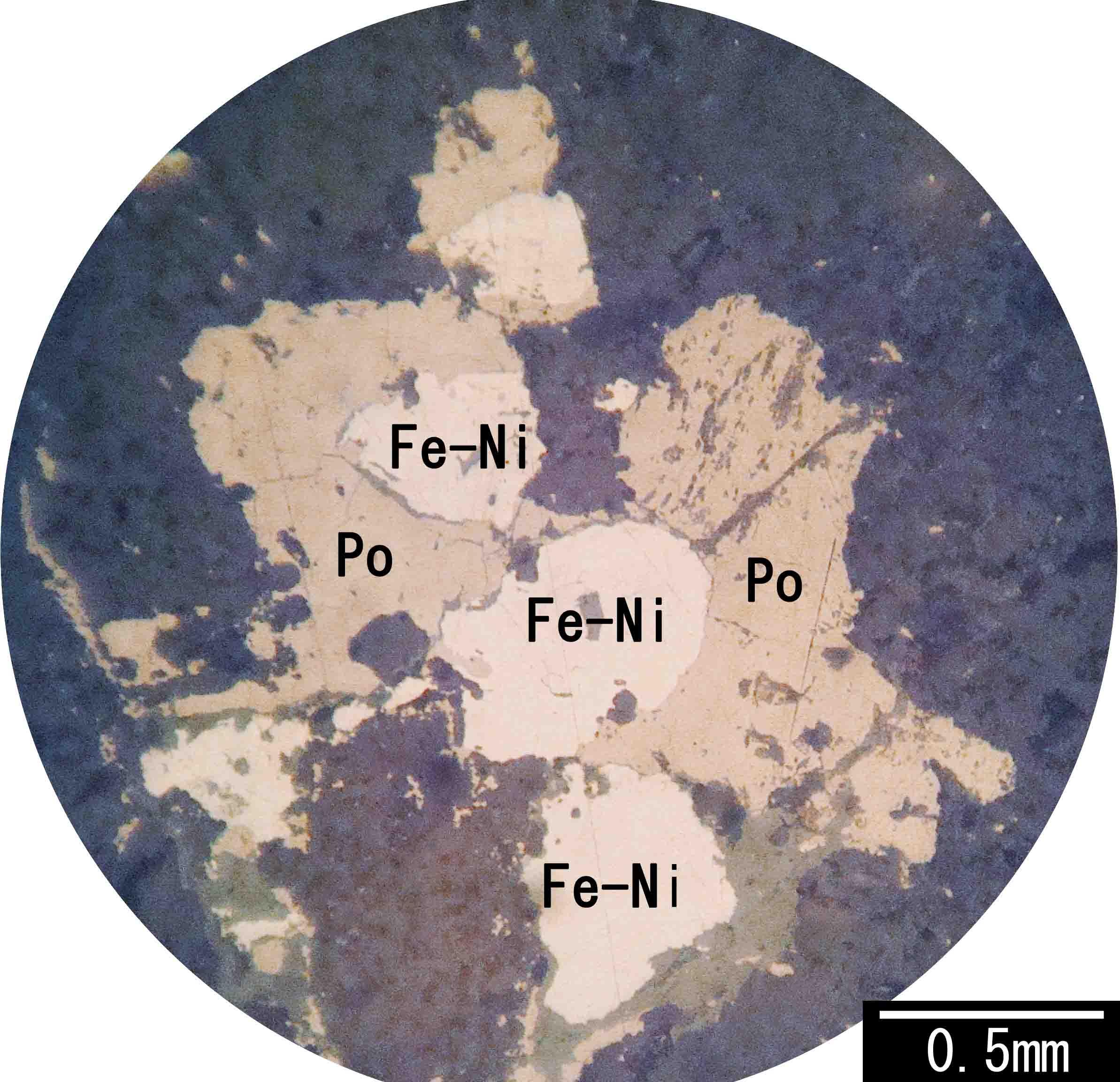 磁硫鉄鉱 pyrrhotite