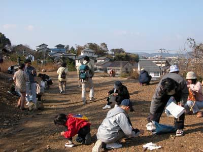 帯江鉱山跡の観察